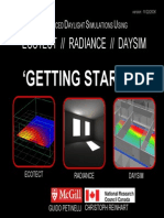 Getting Started With Ec Otect Radiance Days Im