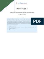 Atelier Drupal7