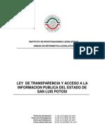 Ley de Transparencia y Acceso  a la Informacion Publica del Estado de San Luis Potosi.pdf