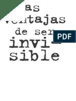 Primeras Paginas Ventajas Ser Invisible