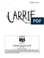 Carrie - Libretto New(1)