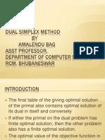 Dual Simplex Method