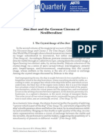 Das Boot and the German Cinema of Neoliberalism