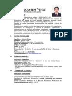 Curriculum Vitae Wcsq.