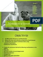 Marasmus and Kwashiorkor