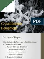 Crystallization Equipment
