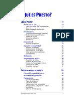 Catálogo de Presto