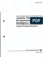 Analytic Thinking and