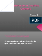 Historia de La Doctrina Cristiana 2