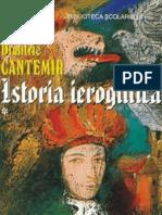 Cantemir Dimitrie - Istoria Ieroglifica1 (Cartea)#