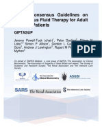 British Guidelines for IV Fluid Therapy