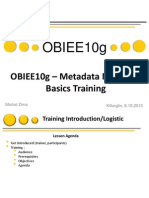 OBIEE10g Metadata Modeling Basics