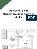 Exp No 7 Funcionamiento de Un Microprocesador de 4 Bits