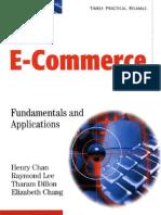 E Commerce Fundamentals and Applications
