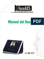 Manual de Usuario FaceAXS