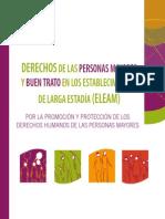 DERECHOS DE LAS PERSONAS MAYORES  Y BUEN TRATO (cartilla - INDH)