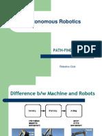 basic robotics and sensors