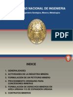 Formulacion de Petitorio Minero 2013