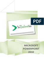 Microsoft Power Point 2010