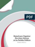 Manual Para Organizar Elecciones Internas