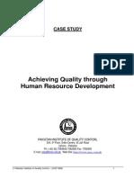 Dr. S. M. Naqi - Achieving Quality Thro