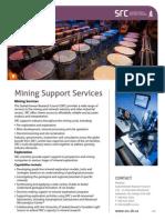 SRC Mining Support Services Fact Sheet