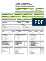 BCI - Modelo Para Preencher