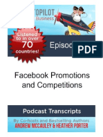 Facebook Promotions and Competitions