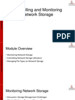 12 Controlling and Monitoring Network Storage