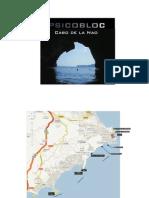 Guia.psicobloc en Comunidad Valenciana (Cabo de La Nao)