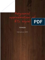 polynomial approximation of a 2D signal