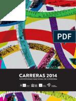 Unc Guia de Carreras 2014