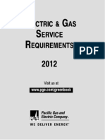 PG&E 2012 Greenbook Manual