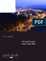 City and County Issue Guide 2014