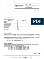 Exercices de Revision Pour DC1 4eme