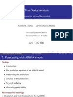 Forecasting With ARIMA Models