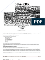 DBA-RRR Army Lists Books 1-3 v. 1.13