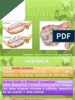 Seminario de Sindrome de Ovario Poliquistico