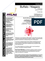 PFLAG Buffalo-Niagara Newsletter for February