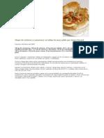 Chupe de Ostiones y Camarones en Tulipa de Masa Philo Por Juana Muzard