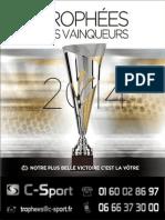 Trophees Des Vainqueurs 2014