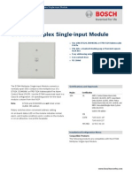 BOSCH - D7044 Multiplex Single-Input Module