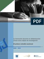 La Formacion Docente en Alfabetizacion Inicial Como Objeto de Investigacion 1