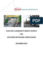 South Side Community Benefit District plan