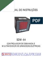 SDM64 Multimedidor de Grandezas