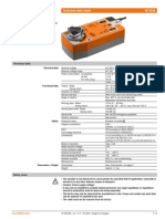 Belimo SF230A Date Tehnice 10.07.10