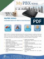 MyPBX SOHO Datasheet En