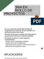 Auditoria en Desarrollo de Proyectos