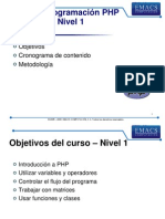 Laminas PHP1 Apertura Emacs
