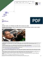 Alckmin rejeita carro blindado após filho sofrer tentativa de assalto